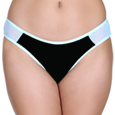 Low Waist Bikini with Powernet Wings