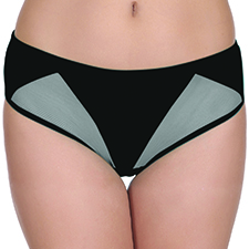 Low Waist Bikini with W Powernet Panels