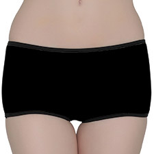 Full Fabric Low Waist Boyshorts
